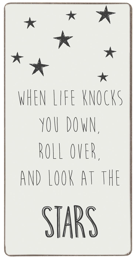 MAGNET WHEN LIFE KNOCKS YOU DOWN...
