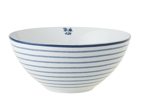 SKÅL / BOWL 16 CANDY STRIPE, 80CL ASHLEY