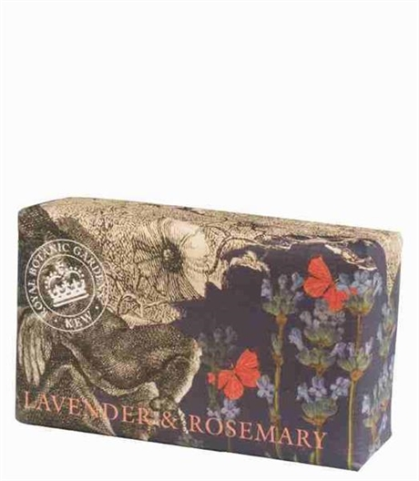 Fast tvål Shea Butter Soap Lavender & Rosemary Luxury 240gr