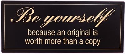 PLÅTSKYLT BE YOURSELF