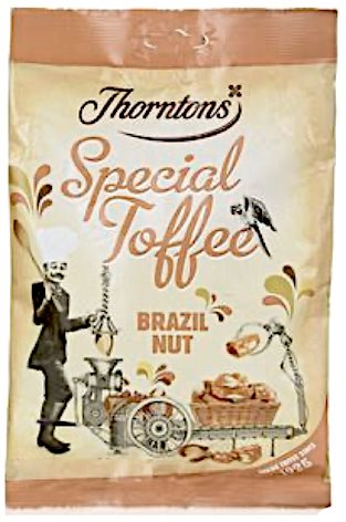 Thorntons Special Toffee Brazil Nut 240g