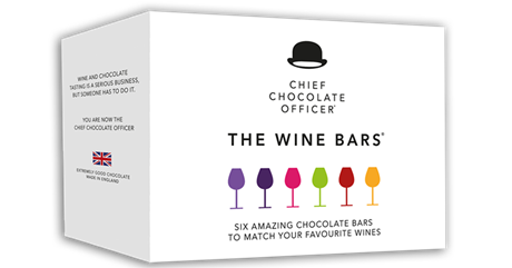 THE WINE BARS CHOCOLATE VINPROVARCHOKLAD
