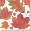 Servetter lunch Watercolor Leaves