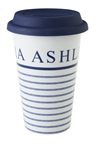 TO GO MUGG CANDY STRIPE M DUBBELVÄGG, 33cl ASHLEY