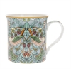 MUGG I WILLIAM MORRIS MÖNSTER TEAL STRAWBERRY THIEF, H:8cm