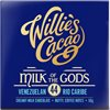 WILLIE'S MILK OF THE GODS – MJÖLKCHOKLAD 50g